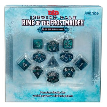 Dungeons & Dragons RPG dés Icewind Dale: Rime of the Frostmaiden