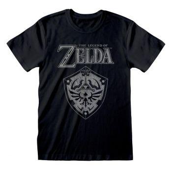 Legend Of Zelda T-Shirt Distressed Shield