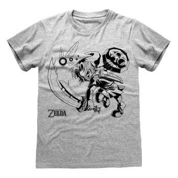 Legend Of Zelda T-Shirt Link And Navi