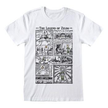 Legend Of Zelda T-Shirt Drawings