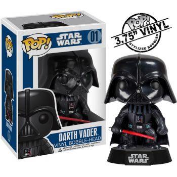 Star Wars POP! Vinyl Bobble Head Darth Vader 10 cm