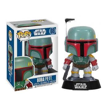 Star Wars POP! Vinyl Bobble Head Boba Fett 10 cm