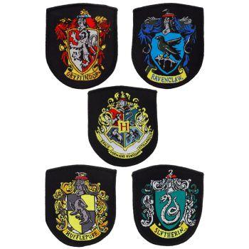 Harry Potter pack écussons House Crests