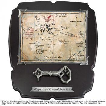 Le Hobbit réplique 1/1 clé et carte de Thorin Écu-de-chêne Deluxe