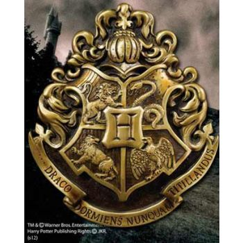 Harry Potter décoration murale Hogwarts School Crest 28 x 31 cm
