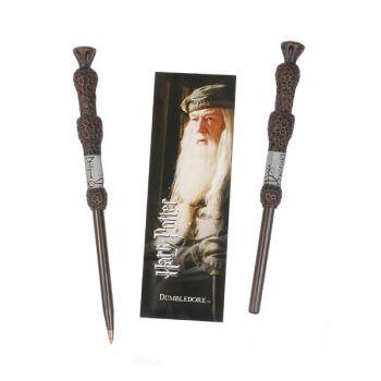 Harry Potter set stylo à bille et marque-page Dumbledore