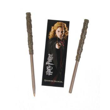 Harry Potter set stylo à bille et marque-page Hermione