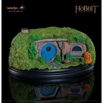 Le Hobbit Un voyage inattendu statuette 26 Gandalf´s Cutting 6 cm