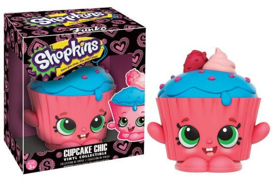 Shopkins figurine Vinyl Collectible Cupcake Chic 9 cm