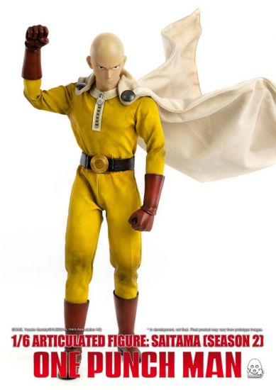 One Punch Man figurine 1/6 Saitama (Season 2) 30 cm --- EMBALLAGE ENDOMMAGE