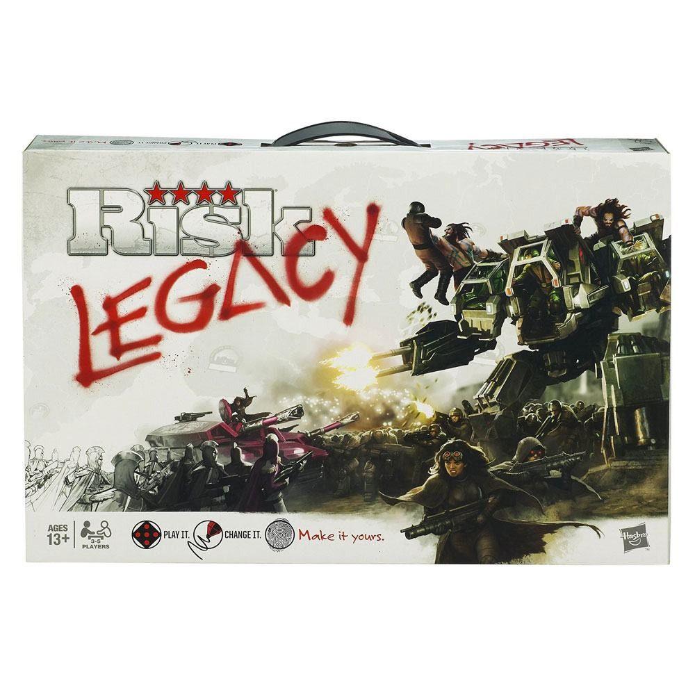 Avalon Hill Jeu De Plateau Risk Legacy Anglais