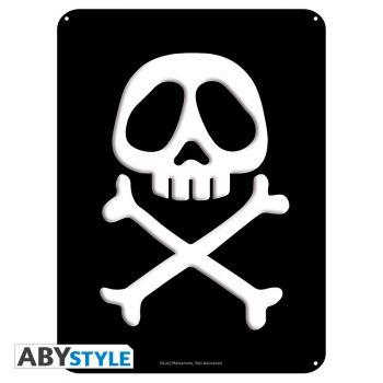 ALBATOR - Plaque métal -Emblème- (28x38)