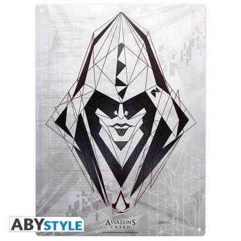 ASSASSIN'S CREED - Plaque métal -Assassin- (28x38)