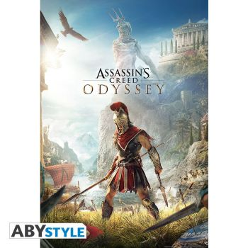 ASSASSIN'S CREED - Poster -Odyssey Keyart- roulé filmé (91.5x61)