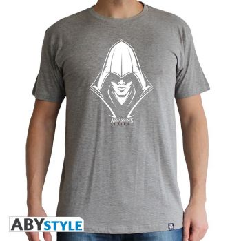 ASSASSIN'S CREED - Tshirt -Assassin- homme MC sport grey - basic