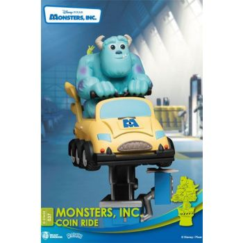 Disney Coin Ride Series diorama PVC D-Stage Monsters Inc. 16 cm