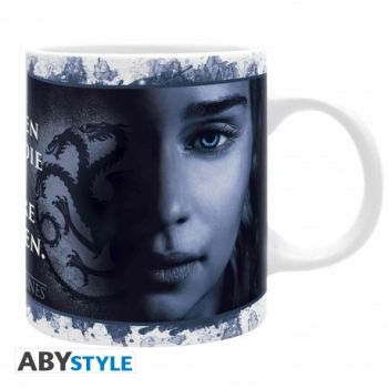 GAME OF THRONES - Mug - 320 ml - 2 Reines - subli- Mate