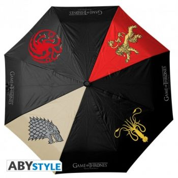Parapluie automatique 4 familles Game of Thrones