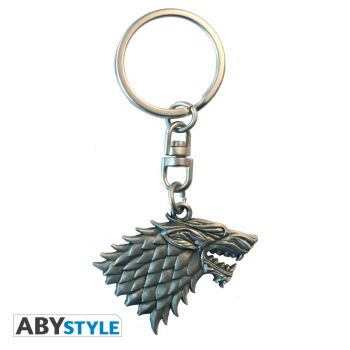 GAME OF THRONES - Porte-clés 3D -Stark-
