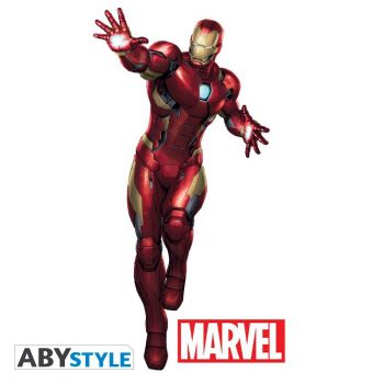 MARVEL - Stickers - échelle 1 - Iron Man (blister)