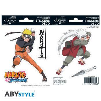 NARUTO SHP - Stickers - 16x11cm/ 2 planches - Naruto/ Jiraiya