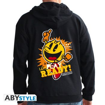 PAC-MAN - Sweat - -Let's play- homme black