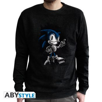 SONIC  - Sweat vintage - -Sonic- homme used black