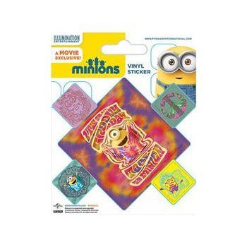 Minions pack de 10 stickers vinyle Groovy