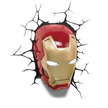 Marvel lampe 3D LED Iron Man