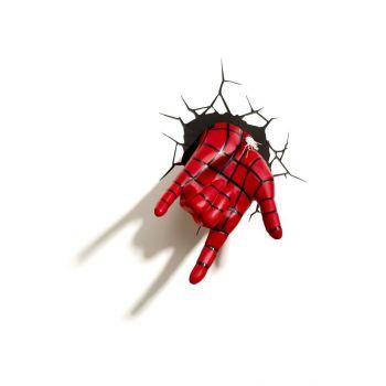 Ultimate Spider-Man lampe 3D LED Spider-Man Hand