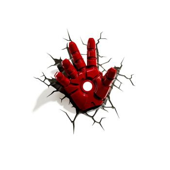 Avengers lampe 3D LED Iron Man Hand