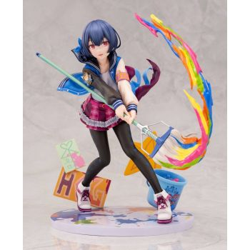 The Idolmaster Shiny Colors statuette PVC 1/8 Rinze Morino Brave Hero Ver. 19 cm