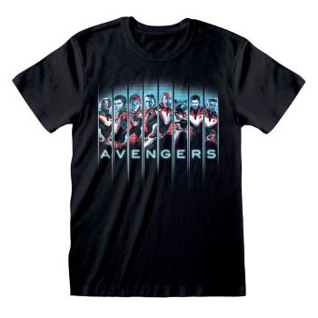 Avengers Endgame T-Shirt Tonal Heads