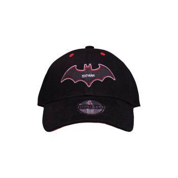 Batman casquette hip hop Black & Red
