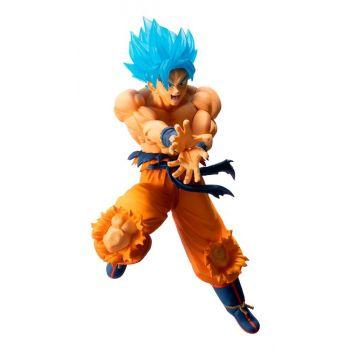 Dragon Ball statuette PVC Ichibansho Super Saiyan God Super Saiyan Son Goku 16 cm
