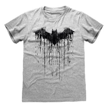 DC Batman T-Shirt Dripping Logo