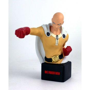 One Punch Man buste / tirelire Saitama 20 cm