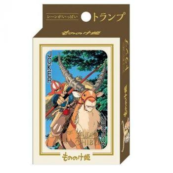 Princesse Mononoké jeu de cartes à jouer