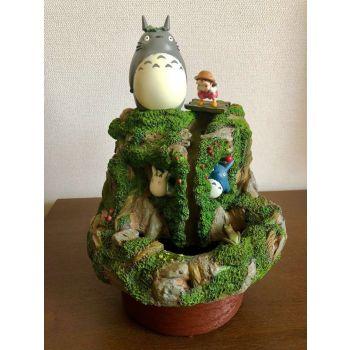 Mon voisin Totoro diorama Water Garden Mae And Totoro