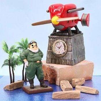 Porco Rosso horloge Marco Savoia Trial Model 15 cm