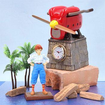 Porco Rosso horloge Fio Piccolo Savoia Late Model 15 cm