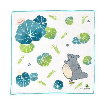 Mon voisin Totoro serviette de toilette mains Wasabi 29 x 29 cm