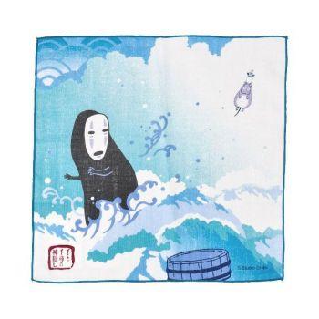 Le Voyage de Chihiro serviette de toilette mains Unabara 29 x 29 cm