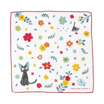 Kiki la petite sorcière serviette de toilette mains Flower Candy 29 x 29 cm