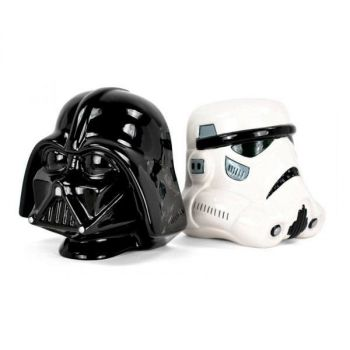 Star Wars serre-livres Stormtrooper and Vader 15 cm