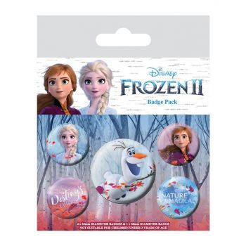 La Reine des neiges 2 pack 5 badges Destiny