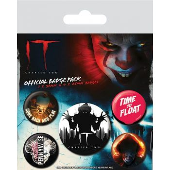 Ça : Chapitre 2 pack 5 badges Clown