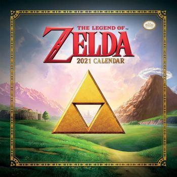 The Legend of Zelda calendrier 2021