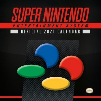 Super Nintendo calendrier 2021