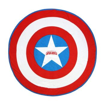 Marvel serviette de bain Captain America 140 cm